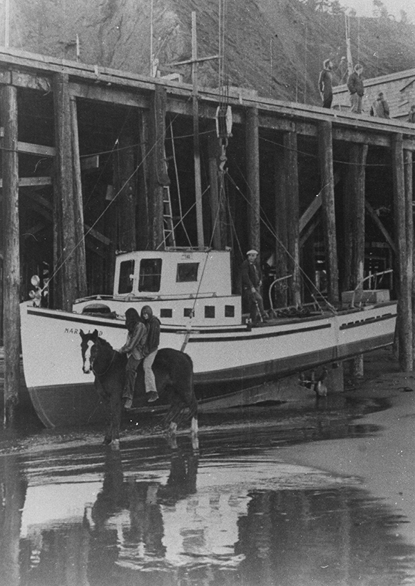 Maritime Dock 1967 - Mary Linda Guerin and Lois Miller
