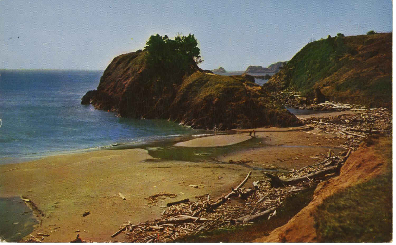 Battle Rock Beach Postcard