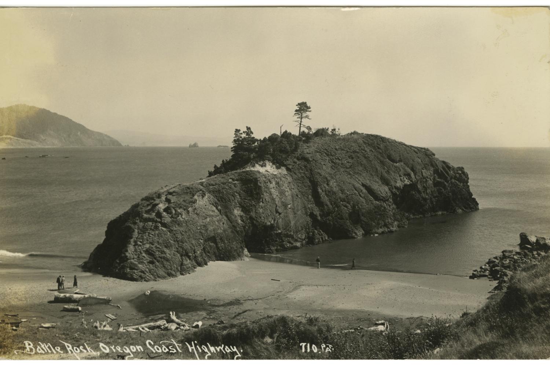 Battle Rock Oregon Coast Highway