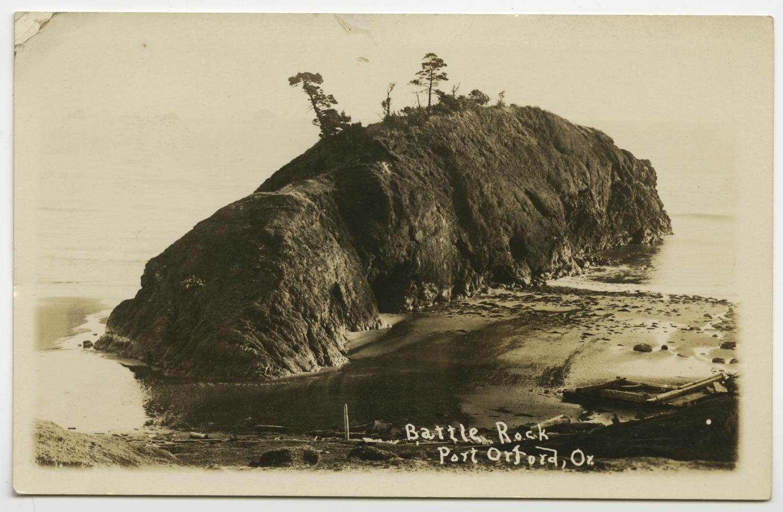 Battle Rock - Port Orford Or