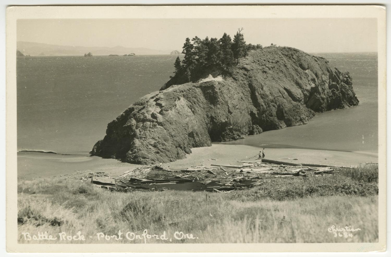 Battle Rock - Port Orford Oregon - Christian