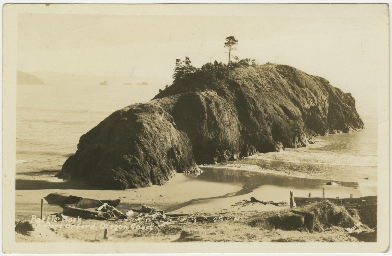Battle Rock - Port Orford - Oregon Coast - Burke
