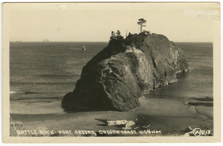 Battle Rock - Port Orford - Oregon Coast Highway