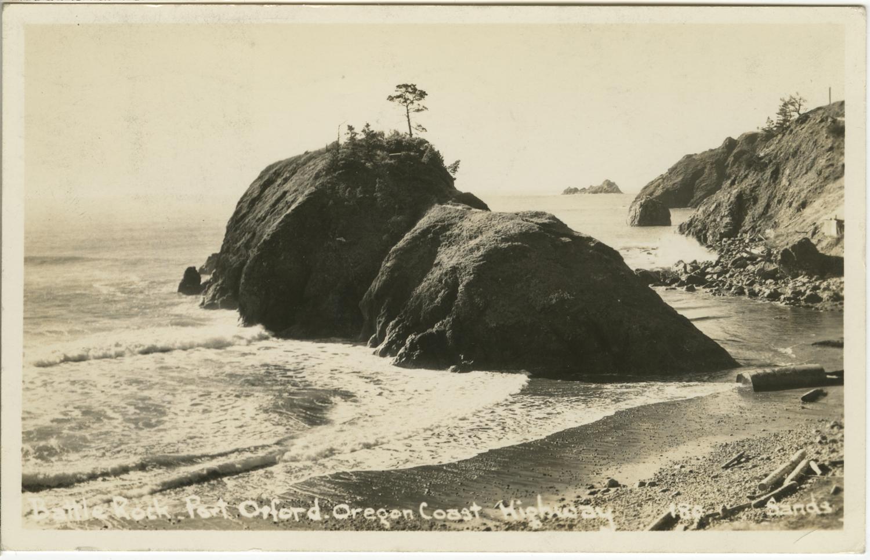 Battle Rock Port Orford - Sands