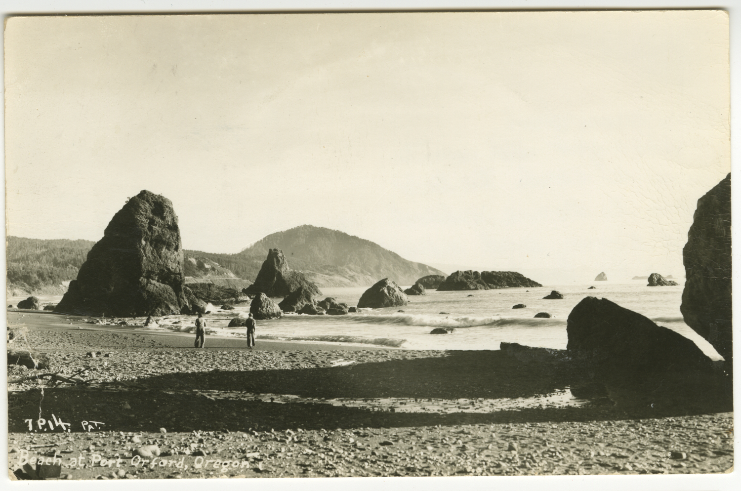 Beach at Port Orford Oregon