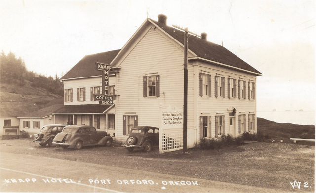 Building Knapp Hotel West side c1935