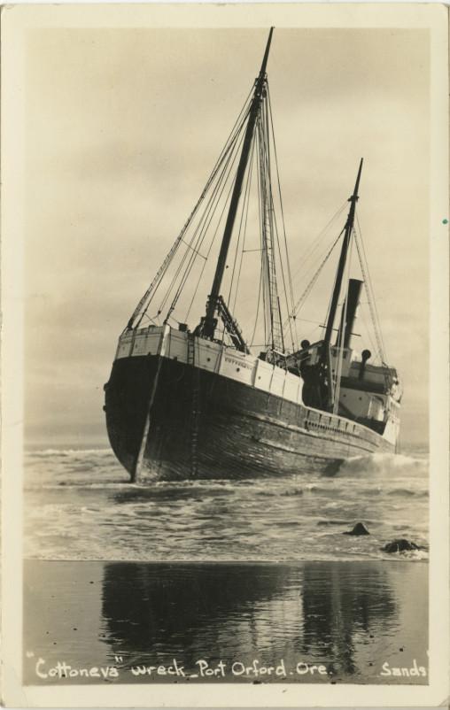 Cottoneva wreck - Port Orford Ore - Sands