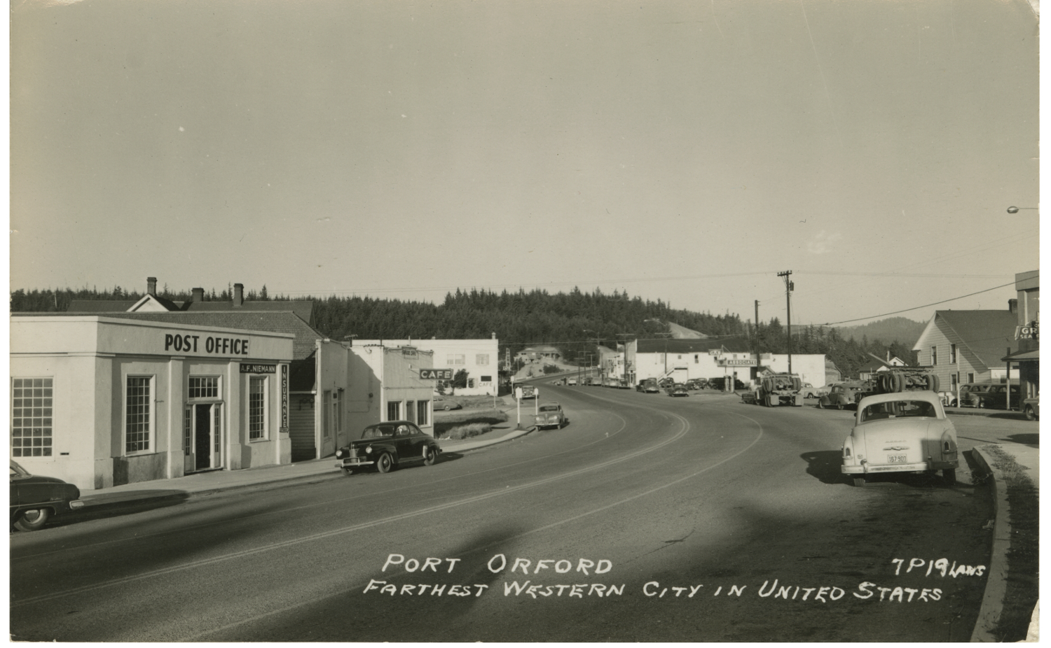 Port Orford Farthest Western City In United States