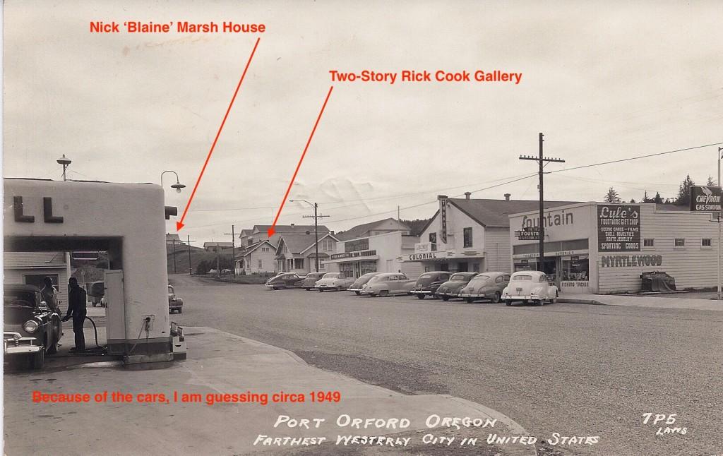 HWY 101 - 8th Street c1950