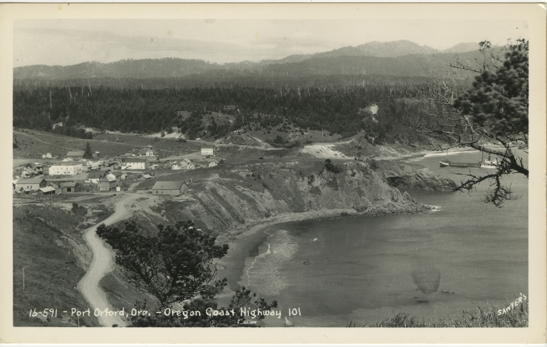 Port Orford Ore - Oregon Coast Highway - Sawyers