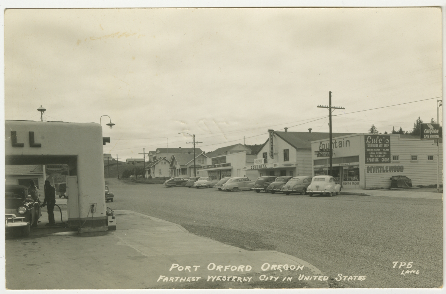 Port Orford Oregon - Farthest Westerly City in United State - Laws
