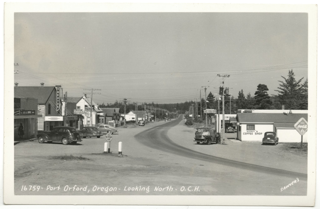 Port Orford Oregon - Looking North - Sawyer