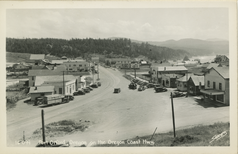 Port Orford Oregon on the Oregon Coast Highway - Sawyers