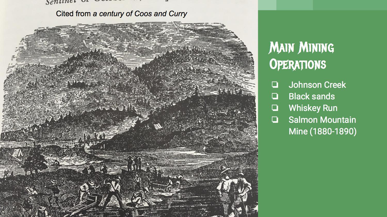 Main Mining Operations