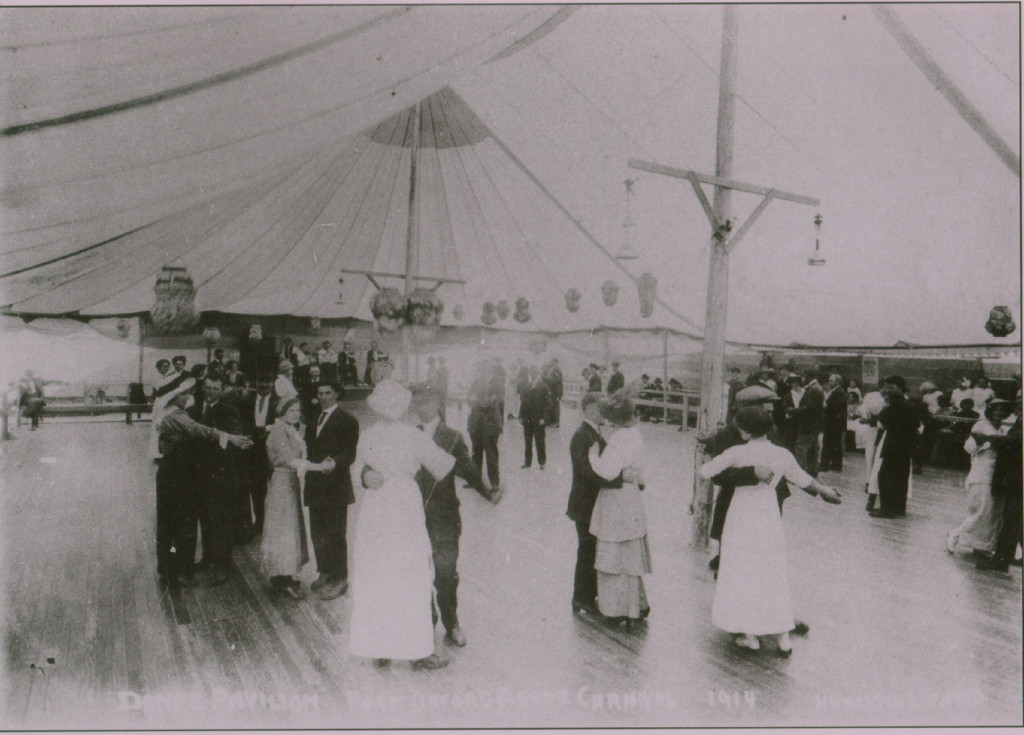 Dancing at the Port Orford Agate Festival in 1914.