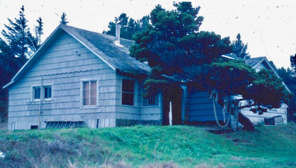 Building 5th Jackson Hildreth Cabin c1986