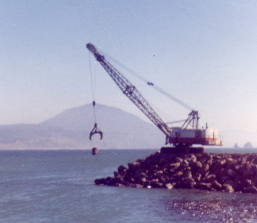 Maritime - Dock - Jetty construction 1968