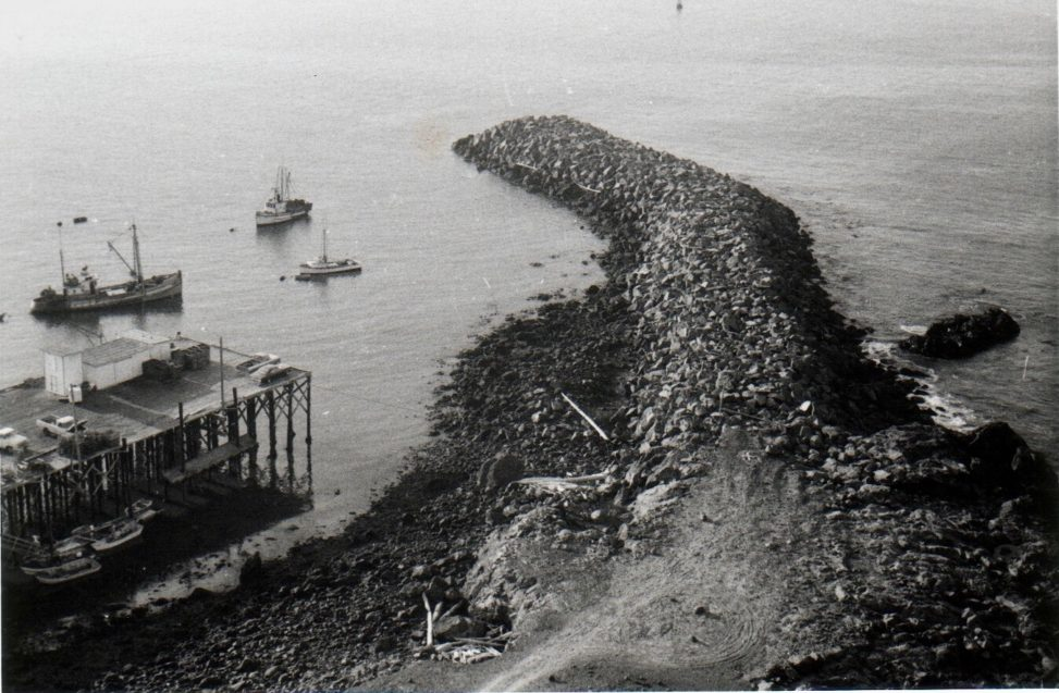 Maritime - Dock - Piling - Jetty c1970