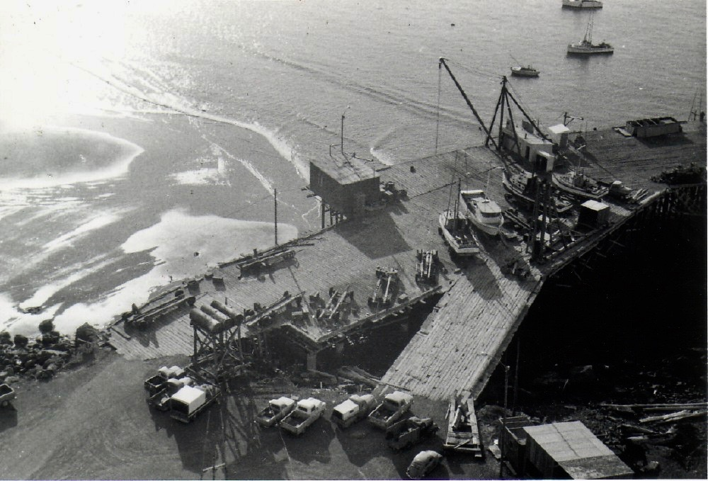 Port Orford Dock and Jetty c1970