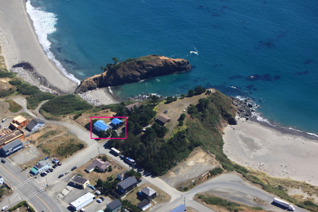OSU Port Orford Field Station Cam - Looking South-SouthEast
