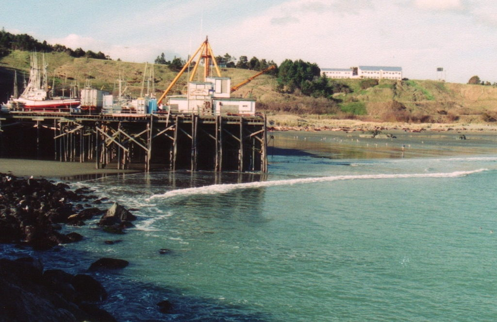 Port Orford Dock and Jetty c1990