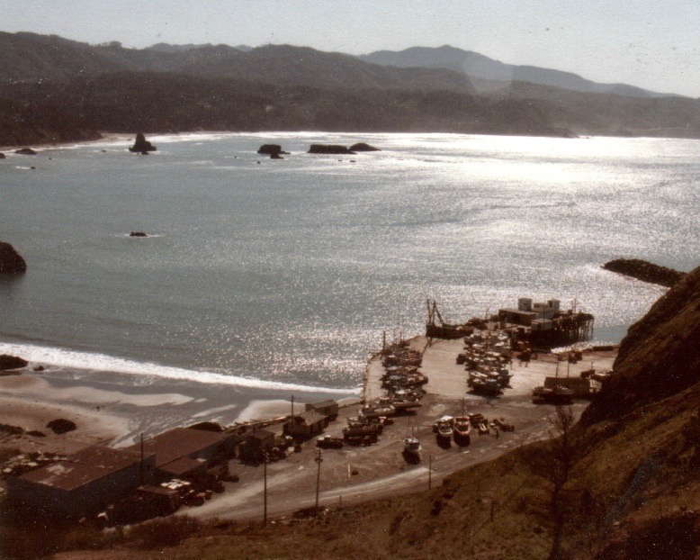Port Orford Dock and Jetty c1995