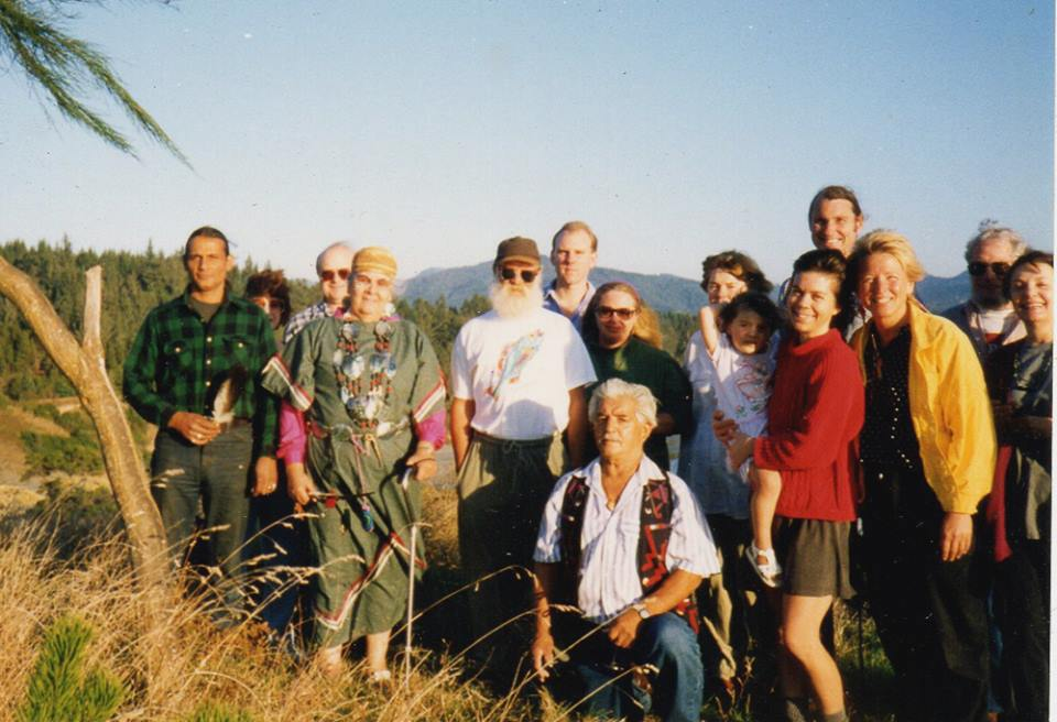 Grant and Aggie Pilgrim co- founders of the Port Orford Salmon Bake and Honor Ceremony in 1993.