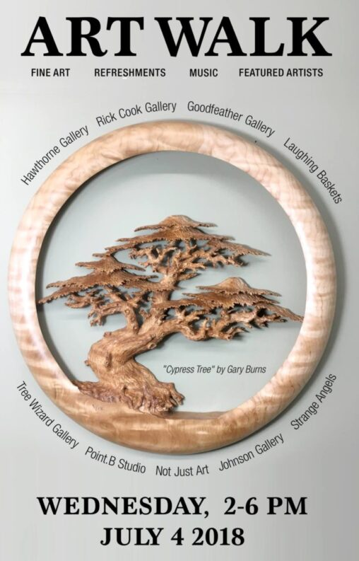 ARTWALK 070418 (Tree Wizard Gallery)
